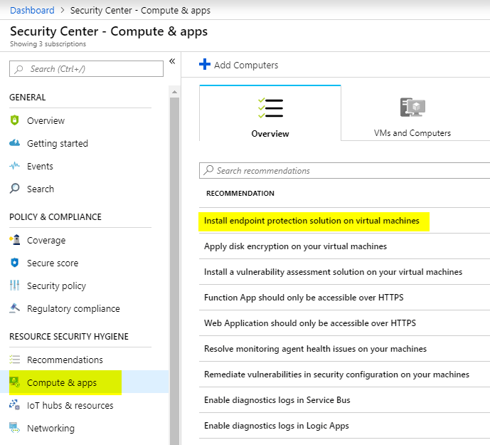 Azure VM Antimalware Extension Management - Apostolidis IT Corner